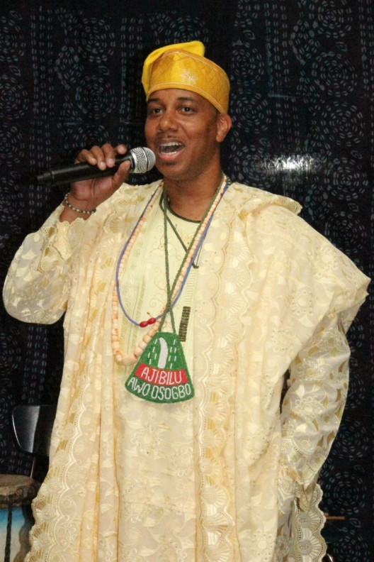 Chief Ayanda Clarke, Ajibilu Awo of Osogbo, Nigeria.